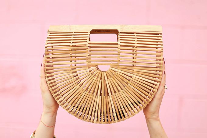 Summer to Autumn 2017 Trend Guide   Orange Crush   Cult Gaia's Ark Large Bamboo Clutch // JustineCelina.com