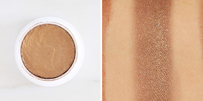 Colourpop Super Shock Shadow in Blaze Photos, Review, Swatches // JustineCelina.com