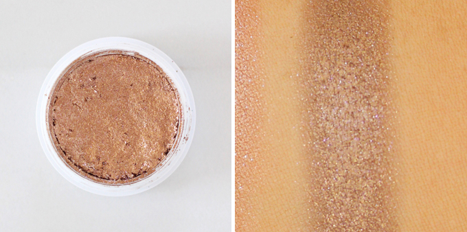 Colourpop Super Shock Shadow in Nillionaire Photos, Review, Swatches // JustineCelina.com