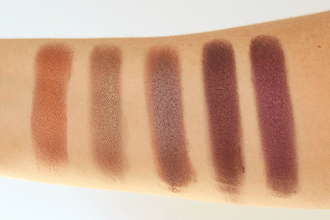 Colourpop Super Shock Shadows in Row 4 | Game Face, Blaze, 3, Mooning, Stereo | Photos, Review, Swatches on NC 30 skin // JustineCelina.com