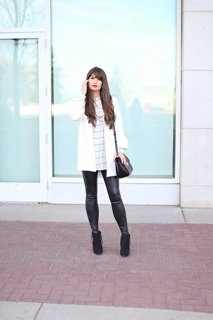 Autumn 2017 Trend Guide | Street Chic | Biggest Fall 2017 Trends | Best Red Lipsticks for Fall 2017 | Bangs for Fall 2017 | Calgary Fashion Blogger // JustineCelina.com