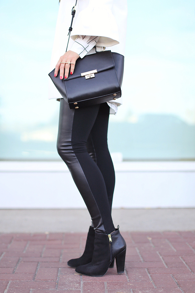 Autumn 2017 Trend Guide | Street Chic | Biggest Fall 2017 Trends | Best Leather Leggings for Fall 2017 | Calgary Fashion Blogger // JustineCelina.com