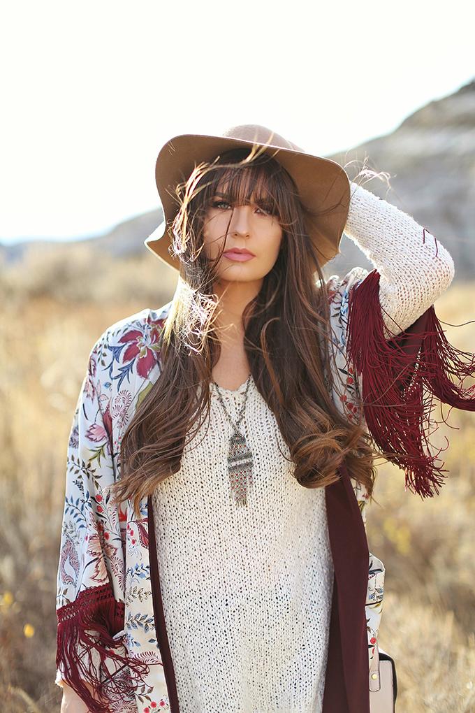 How to Style | Kimonos for Autumn // JustineCelina.com