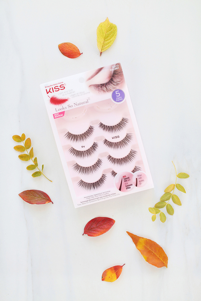 Kiss Looks So Natural Blooming Lashes in Shy   September 2017 Beauty Favourites // JustineCelina.com