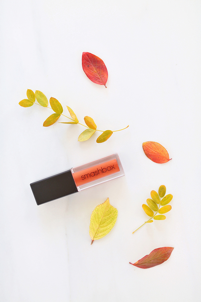Smashbox Always On Matte Liquid Lipstick in Out Loud   September 2017 Beauty Favourites // JustineCelina.com