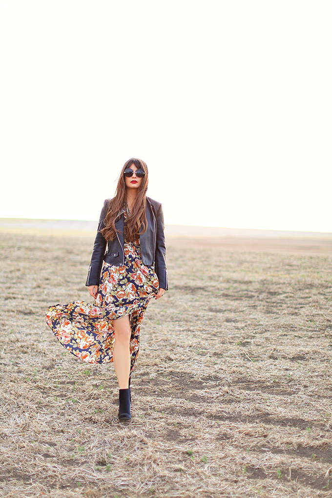 AUTUMN / WINTER 2017 TREND GUIDE | Falling for Florals // JustineCelina.com