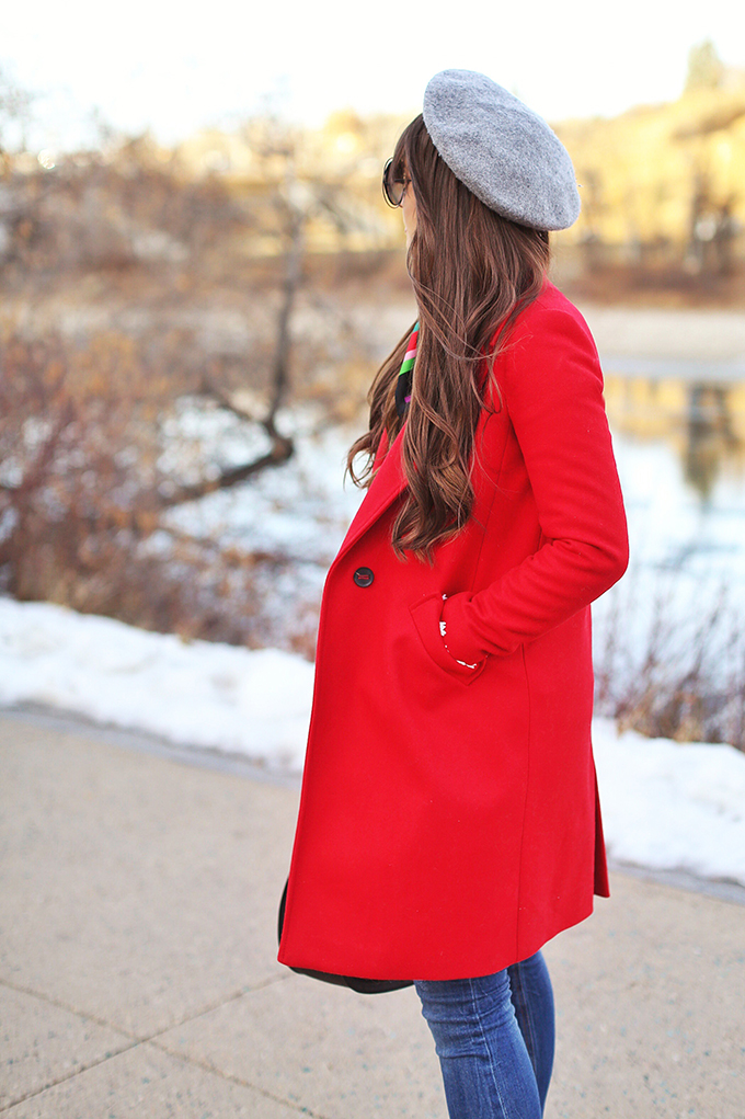 Winter 2018 Trend Guide | Red Hot // JustineCelina.com