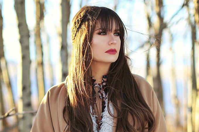 How to Style   Midi Dresses for Winter 2018   Winter 2018 Beauty Favourite   Calgary, Alberta Fashion & Beauty Blogger // JustineCelina.com