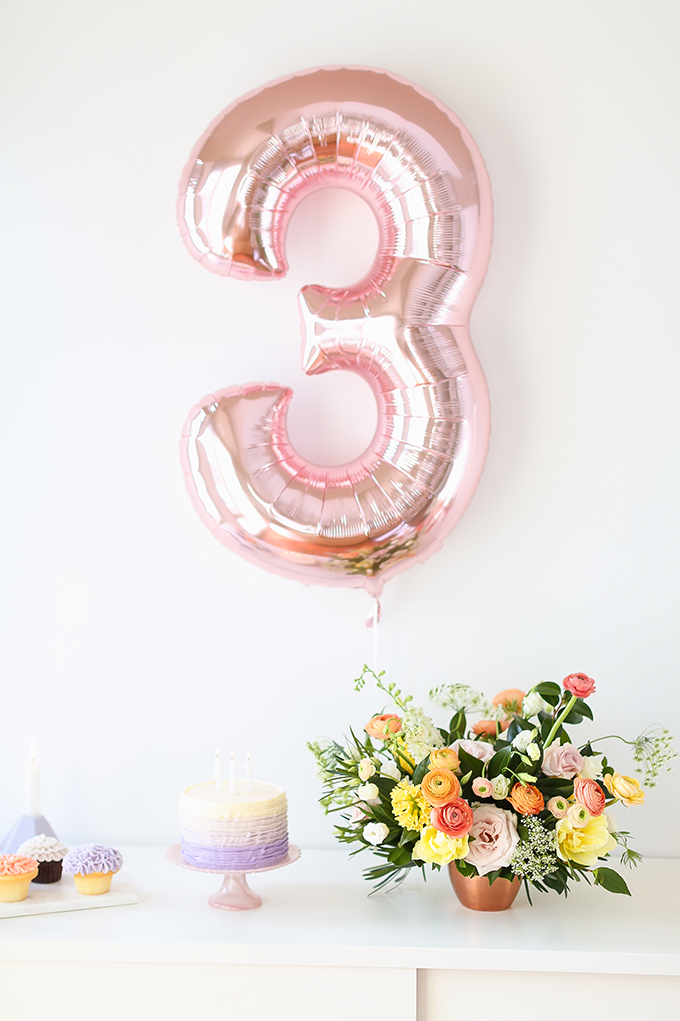 My 3rd Blogiversary + 10 Things I Learned in my Third Year of Blogging   Tips for New or Aspiring Bloggers   A Pantone Spring 2018 Inspired Birthday Celebration // JustineCelina.com