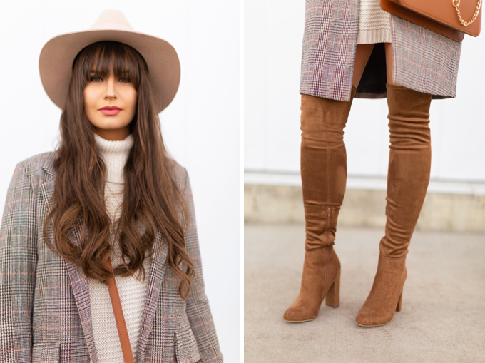 Spring 2018 Trend Guide | Best Steward Weitzman OTK Boot Dupes | Check Yourself | Top Transitional Spring 2018 Fashion Trends // JustineCelina.com