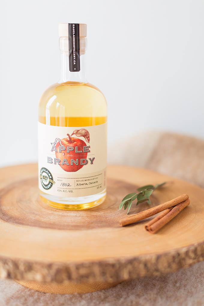 Eau Claire Distillery's Limited Edition Apple Brandy | Apple Brady Sangria Recipe // JustineCelina.com