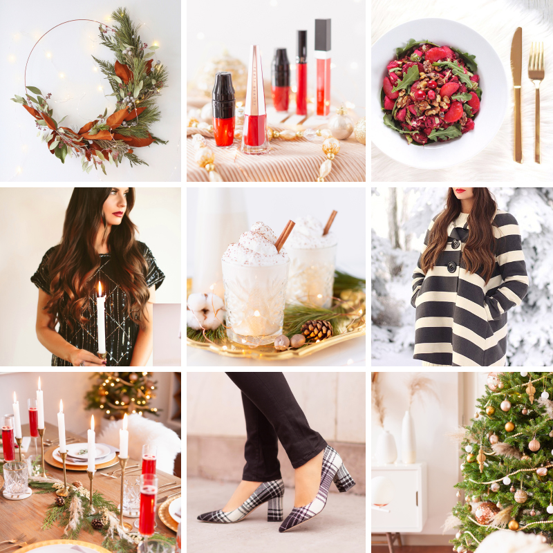 Ultimate Holiday Inspiration Roundup | 28 creative, fun and easy fashion, beauty, fragrance, entertaining, food, cocktail, decor and DIY ideas to inspire your 2020 holiday season | Holiday Ideas 2020 Covid | Holiday Ideas 2020 Coronavirus | Quarantine Christmas Ideas | 2020 Christmas Crafts | Holiday Beauty 2020 | Holiday 2020 Recipes | Holiday 2020 Cocktails | Christmas 2020 Outfit Ideas | Creative 2020 Christmas Ideas | Best Holiday Ideas Blog | Calgary Lifestyle Blogger // JustineCelina.com