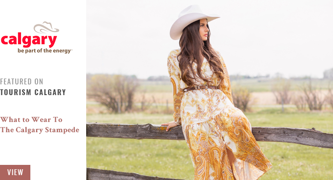 What to Wear to The Calgary Stampede | JustineCelina x Tourism Calgary