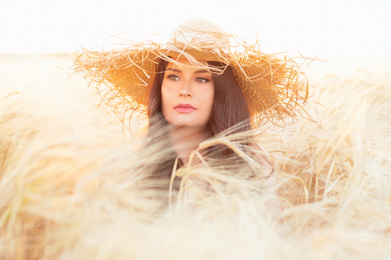 Summer 2020 Lookbook   Boho Summer 2020 Outfit Ideas   Summer Capsule Wardrobe   Summer Quarantine Outfits   Classic Summer Outfit Ideas   The Best Linen Dresses 2020   Sunset Photoshoot   Summer to Fall Outfit Ideas   Classic Affordable Summer Style   Summer 2020 Trends   Brunette woman wearing an Oversized Fringed Brim Straw Hat in a Sunlit Barley Field during Golden Hour   Transitional Summer Meets Autumn Fashion   Calgary Alberta Fashion & Lifestyle Blogger // JustineCelina.com