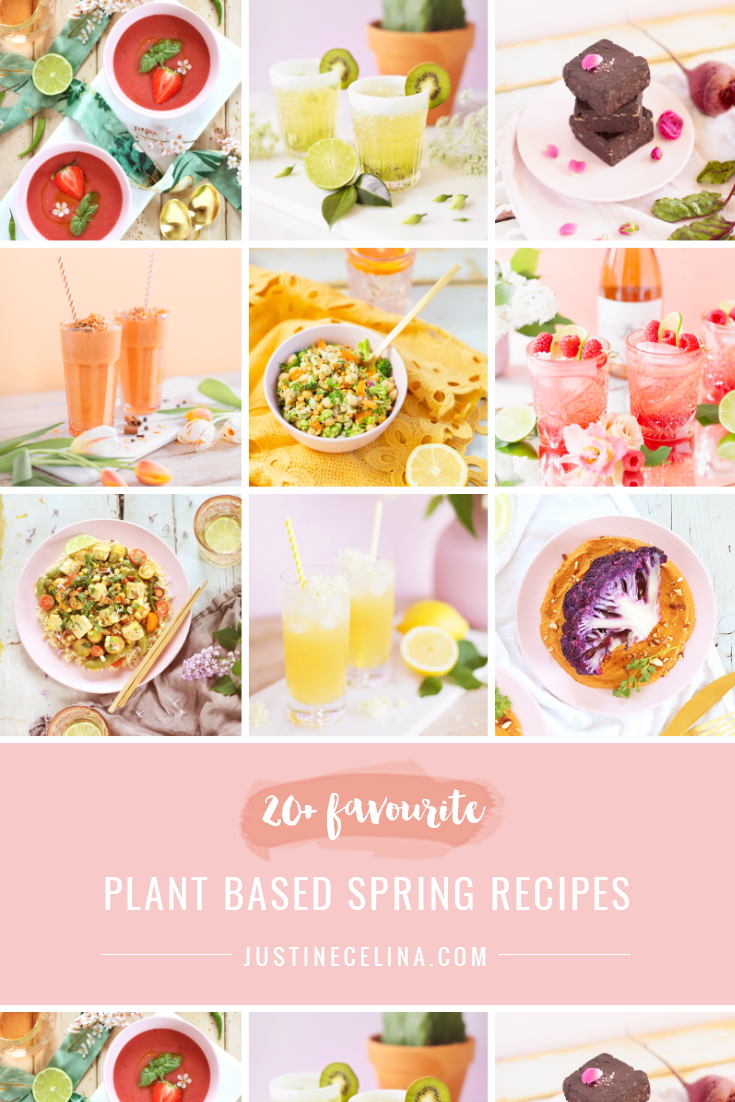 20+ Plant Based Spring Recipes | The Best Healthy, Plant Based Recipes for Spring 2021 | Plant Based Recipes on a Budget | Plant Based Dinner Recipes for Beginners | Whole Food Plant Based Recipes | Vegan Spring Recipe Ideas | The Best Refined Sugar Free Spring Cocktails | Spring Recipes Vegetarian | Vegan Gluten-Free Spring Recipes | Spring Meatless Recipes | Easy Vegan Recipes for Epring | Extensively Tested Plant Based Recipes | Calgary Plant Based Food Blogger // JustineCelina.com